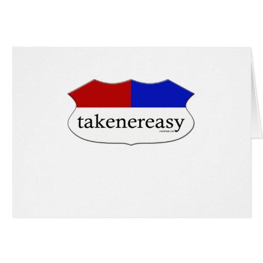 Takenereasy Tarjeta De Felicitación