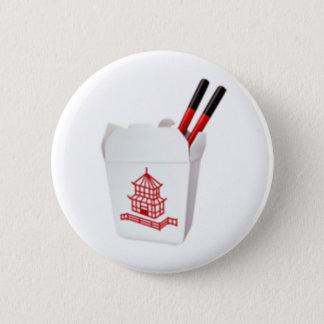 Takeout Box - Emoji Pinback Button