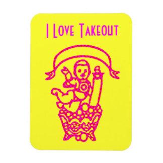 Takeout Fan Magnet