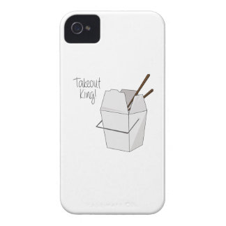 Takeout King! iPhone 4 Cover