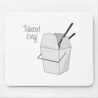 Takeout King! Mouse Pad