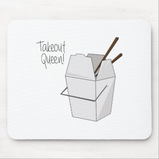 Takeout Queen! Mouse Pad