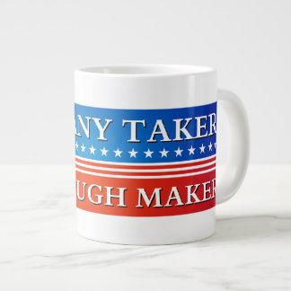 Takers vs. Makers Large Coffee Mug