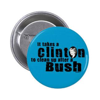 Takes A Clinton Button