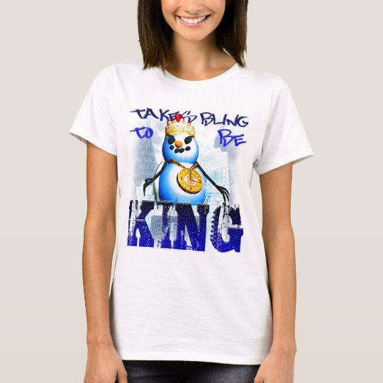 Takes Bling To Be King Spagetti-Strap Top