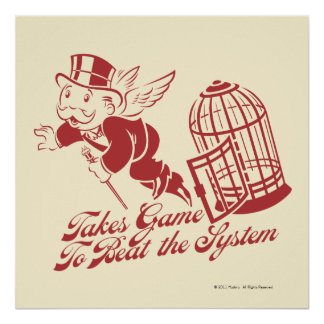 Takes Game to Beat the System Poster