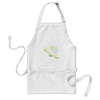 Takes Two Adult Apron