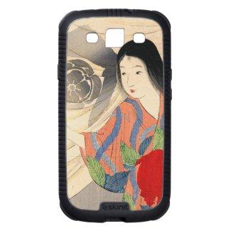 Takeuchi Keishu Tora Gozen japanese vintage lady Galaxy S3 Case