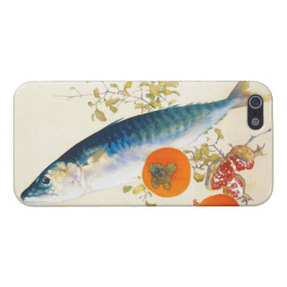 Takeuchi Seiho - Autumn Fattens Fish and Ripens Case For iPhone SE/5/5s
