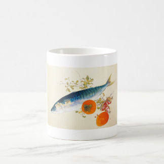 Takeuchi Seiho - Autumn Fattens Fish and Ripens Classic White Coffee Mug