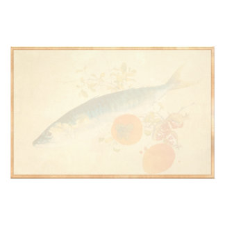 Takeuchi Seiho - Autumn Fattens Fish and Ripens Stationery