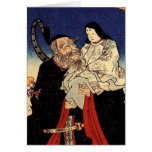 Takeuchi y el emperador infantil tarjetas