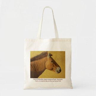 Takhi Stallion, Hustai National Park, Mongolia Tote Bag