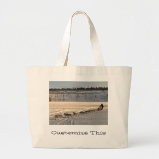 Takhini River Quest; Customizable Jumbo Tote Bag