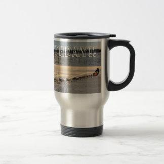 Takhini River Quest; Happy Birthday 15 Oz Stainless Steel Travel Mug