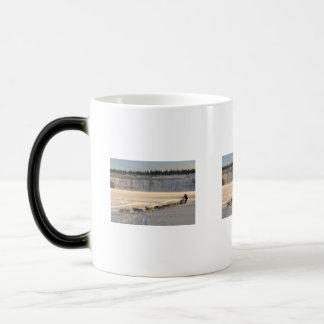 Takhini River Quest 11 Oz Magic Heat Color-Changing Coffee Mug