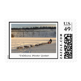 Takhini River Quest Stamps