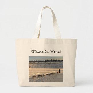 Takhini River Quest; Thank You Jumbo Tote Bag
