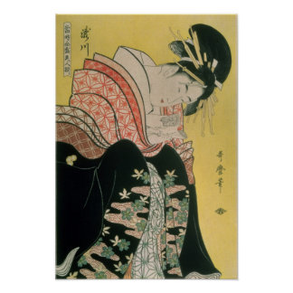Takigawa from the Tea-House, Ogi Poster