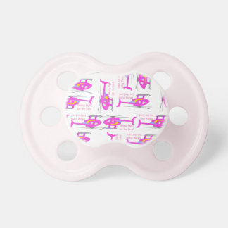 Takin' Flight for the Lord Patterned Pacifiers