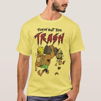 Takin' Out The Trash T-Shirt - Daffodil Yellow