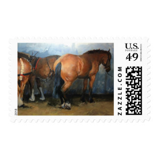 Taking a Break - Chertsey Show 2012 Stamp