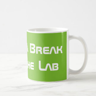 Taking a Break From The Lab Coffee Mug