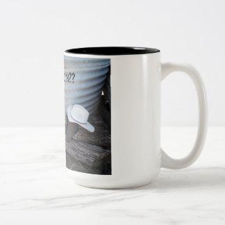 Taking a break Two-Tone coffee mug