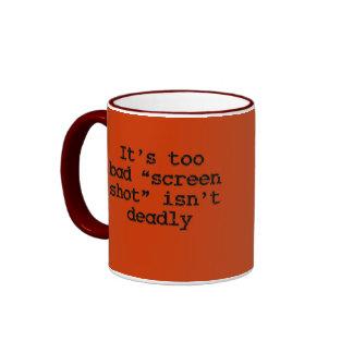Taking a screen shot (sq) ringer coffee mug