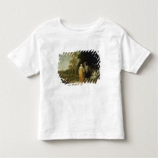 Taking a stroll toddler t-shirt