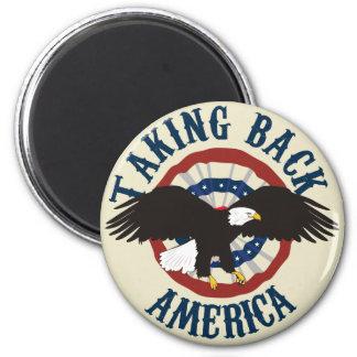TAKING BACK AMERICA FRIDGE MAGNET