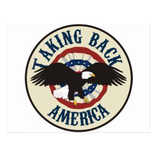 TAKING BACK AMERICA POSTCARD