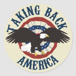 TAKING BACK AMERICA STICKERS