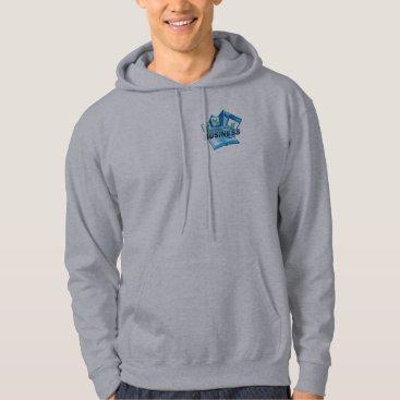 Professional Business Taking care of Business Men's grey Sweatshirt