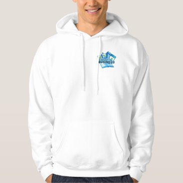 Professional Business Taking care of Business Men's white Sweatshirt
