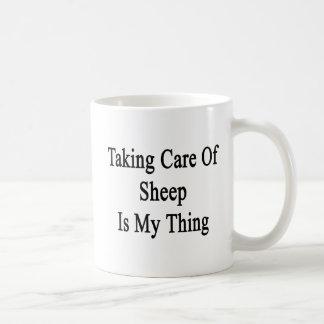 Taking Care Of Sheep Is My Thing Coffee Mug
