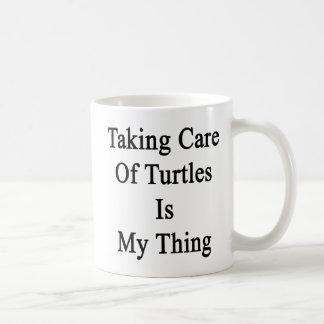 Taking Care Of Turtles Is My Thing Coffee Mug
