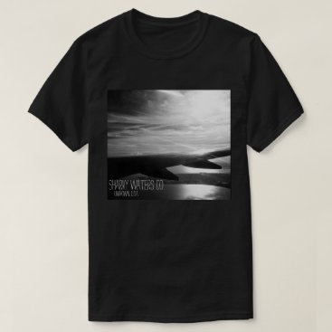 Beach Themed Taking Flight B&W Picture Tee