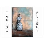 """""""Taking Flight"""":  Horizontal Postcard"""