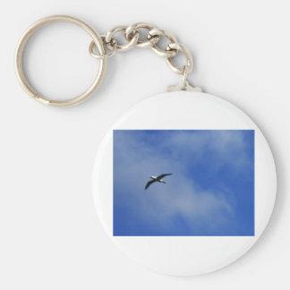 Taking Flight Basic Round Button Keychain