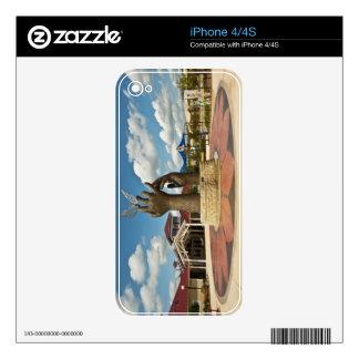Taking Flight sculpture 2 iPhone 4S Skins