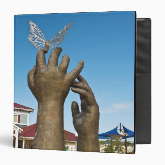 Taking Flight sculpture 3 Ring Binder
