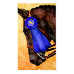 Taking Home the Blue (Horse) Business Cards