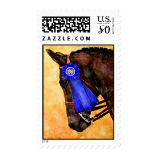 Taking Home the Blue (Horse) Stamps