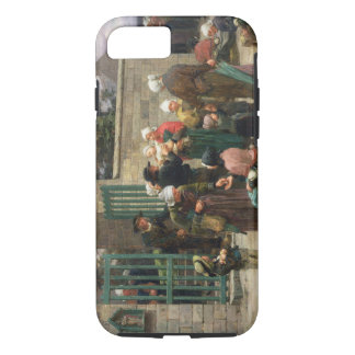 Taking in Foundlings (oil on canvas) iPhone 7 Case