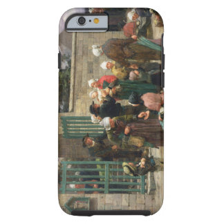 Taking in Foundlings (oil on canvas) Tough iPhone 6 Case