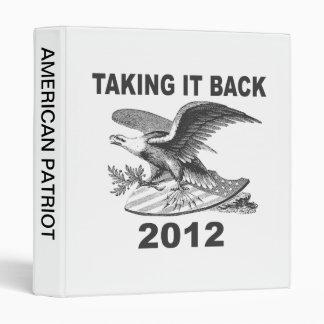 Taking it Back 2012 Patriotic Vinyl Binders