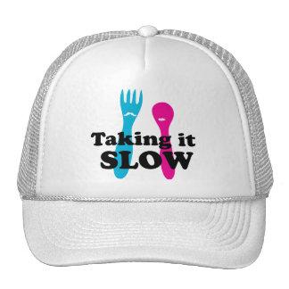 Taking it slow trucker hat