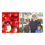 Taking Little Penguin for a Walk Photo Card