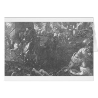 Taking Milan by Federico II Gonzaga by Tintoretto Card